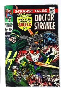 Strange Tales (1951 series) #155, VF- (Actual scan)
