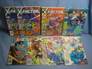 X-Factor (Marvel Comics 1986) 8 Issues #1 2 3 13 50 65 86 Cyclops PHOENIX L@@K!!