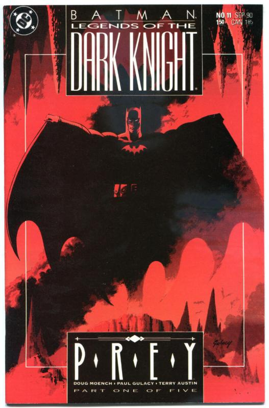 BATMAN: LEGENDS OF THE DARK KNIGHT #11 12 13 14 15 16 17 18 19, NM, Prey, 1989