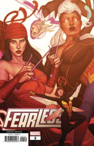Fearless #2 Frison Connecting Variant (Marvel, 2019) NM