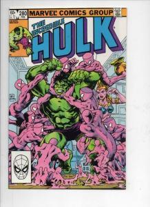 HULK #280, VF/NM, Incredible, Bruce Banner, Buscema, 1968 1983, Marvel