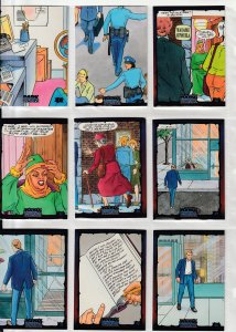 Dark Dominion # 0 Trading Cards  Rare Steve Ditko painted art ! 24  Cards !