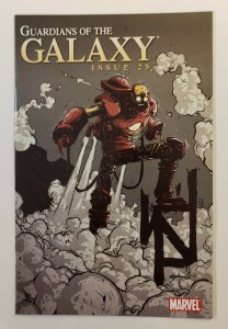 GUARDIANS OF THE GALAXY #25 STEAM PUNK VARIANT SKOTTIE YOUNG 1:15 VF/VF+