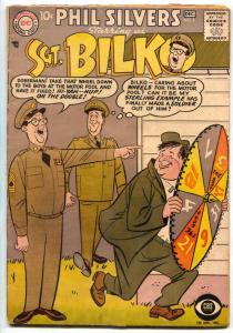 Sergeant Bilko #4 1957- DC TV Silver Age Comic Phil Silvers VG