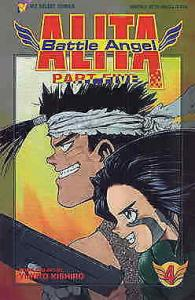 Battle Angel Alita Part 5 #4 VF/NM; Viz | save on shipping - details inside