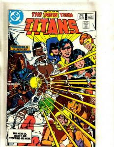 10 DC Comics New Teen Titans 34 Outsiders 0 2 3 4 18 19 Captain Atom 31 + J383