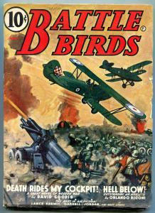 Battle Birds Pulp May 1941- Death Rides My Cockpit- David Goodis FN