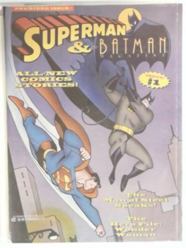 Superman and Batman Comic Magazine 1993 Premier Issue #1  Excellent Condition
