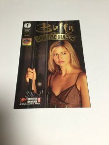 Buffy the Vampire Slayer 1 Gold Another Universe SIGNED Joe Bennett Nm Near Mint