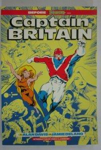 Captain Britain #1 Second Print 8.0 VF (1991)