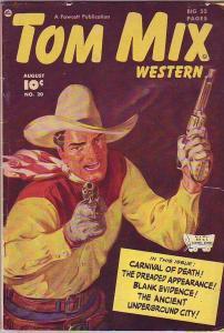 Tom Mix Western #20 (Aug-49) VG Affordable-Grade Tom Mix