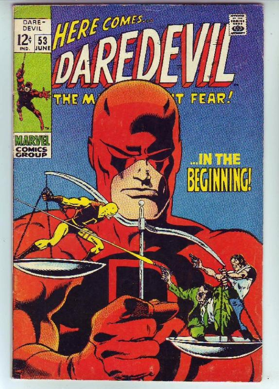 Daredevil #53 (Jun-69) FN/VF+ Mid-High-Grade Daredevil