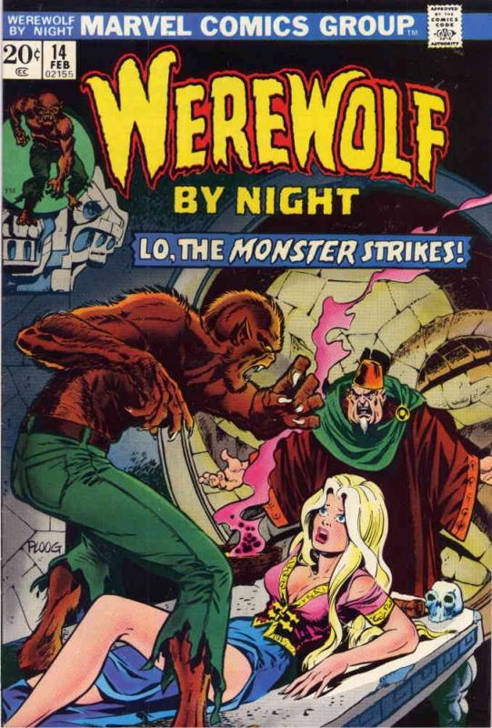Werewolf By Night #14 FN; Marvel | save on shipping - details inside
