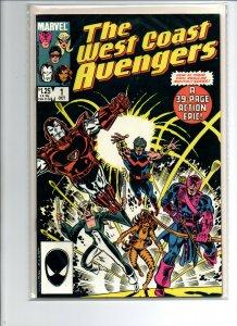 West Coast Avengers #1 - 1986 - Near Mint