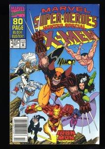 Marvel Super-Heroes (1990) #8 VF+ 8.5 Newsstand Variant 1st Squirrel Girl!