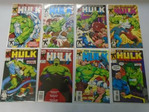 Incredible Hulk comic lot 37 different from #401-448 avg 8.0 VF (1993-96)