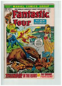 FANTASTIC FOUR 118 VG Jan 1971