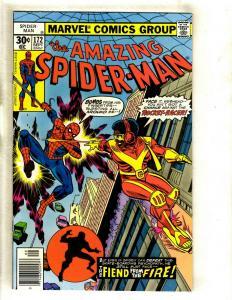 Lot Of 5 Amazing Spider-Man Marvel Comic Books # 172 173 174 175 176 Goblin GK5