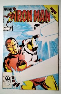 Iron Man #197 (1985) Marvel Comic Book J757