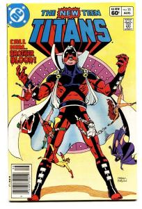 NEW TEEN TITANS #22 comic book-First Baron Blood cover-nm-