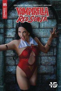 Vampirella Red Sonja #5 Cvr E Cosplay Variant (Dynamite, 2020) NM
