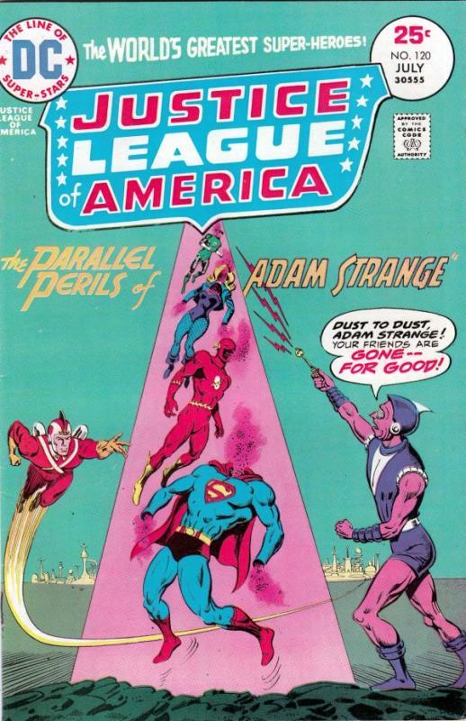 Justice League of America #120 (Jul-75) NM- High-Grade Justice League of America