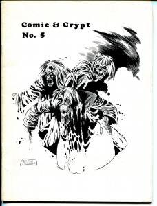 Comic & Crypt #5 1971-Jack Kirby-Carmine Infantino-House of Dracula-VF