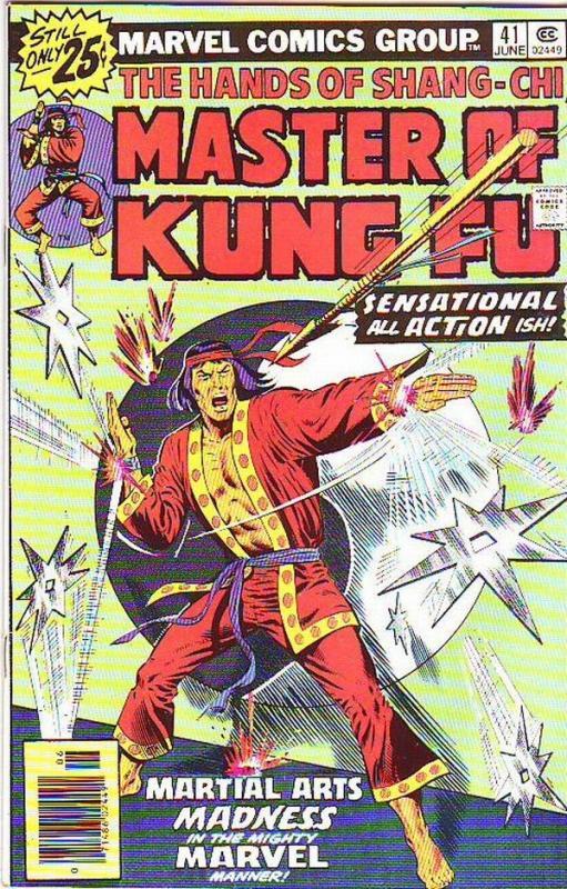 Master of Kung Fu, the Hands of Shang-Chi #41 (Jun-76) NM- High-Grade Shang-Chi