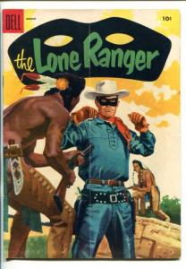 THE LONE RANGER #86-1955-DELL-TONTO-SCOUT-SILVER-SILVER BULLET-vg