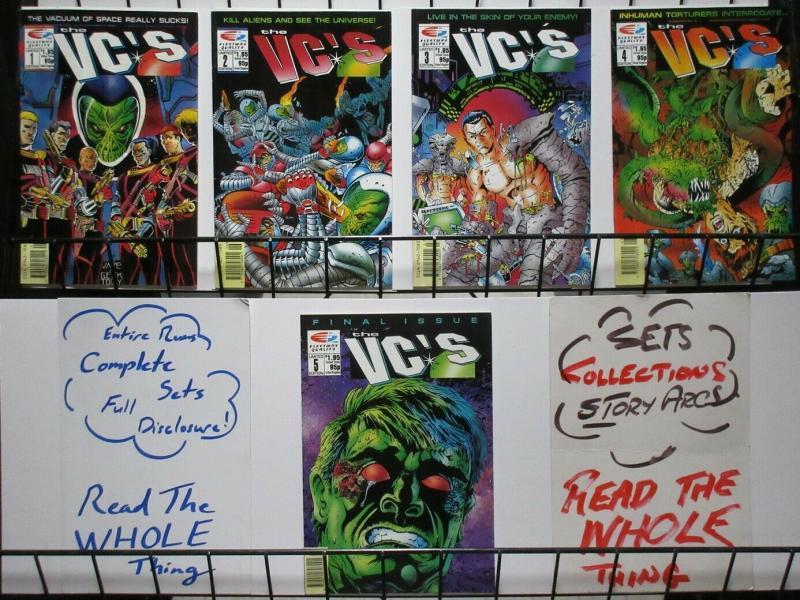 VC (F/Q) 1-5 Leach,Rich Larson,Cam Kennedy  COMPLETE!