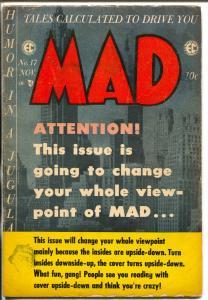 MAD #17 1954-EC-Wally Wood-Will Elder-Julius Carsar-Jack Davis-VG