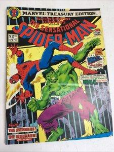 Marvel Treasury Edition #27 The Sensational Spider-Man 1980 Incredible Hulk
