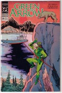 Green Arrow (vol. 2, 1987) # 29 FN Grell/Jurgens