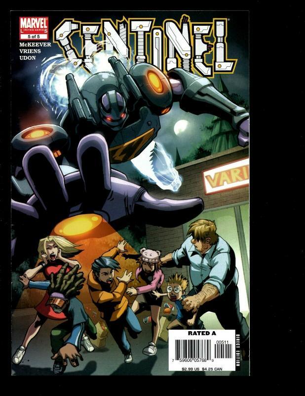 Lot Of 9 Marvel Comics Sentinel # 1 2 3 4 5 Hellions # 1 2 3 4 X-Men Dust EK10