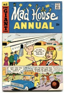 Archie's Madhouse Annual #6 1968- ice cream cover- Sabrina VG+