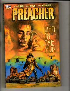 Preacher Vol # 6 War In Sun DC Vertigo TPB Graphic Novel Comic Book Ennis J324