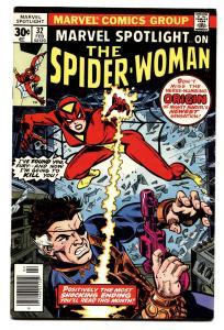 Marvel Spotlight #32 comic book spider-woman origin -Nick Fury-1977 FN+