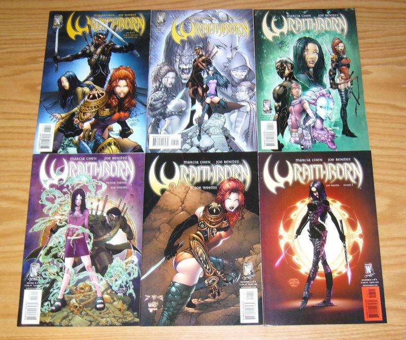 Wraithborn #1-6 VF/NM complete series JOE BENITEZ wildstorm comics set 2 3 4 5