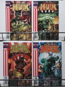 INCREDIBLE HULK (Marvel,1999) #83-86 VF-NM House of M x-overs Peter David!
