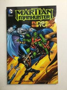 Martian Manhunter Rings Of Saturn Tpb Softcover Sc Near Mint Nm Dc Comics