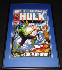Incredible Hulk #118 Framed 12x18 Cover Photo Poster Display Official Repro