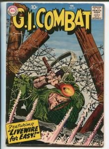 G.I. Combat #57 1958-DC-pre Sgt Rock easy Co. story-Russ Heath-FN/VF