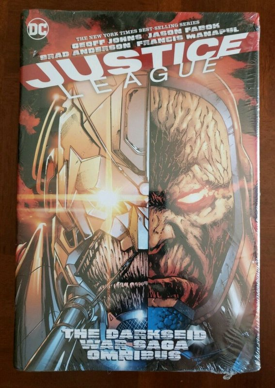 JUSTICE LEAGUE DARKSEID WAR SAGA OMNIBUS Hardcover New & Sealed