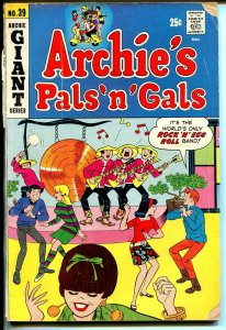 Archie's Giant Series #39 1966-Betty-Veronica-Archie's Pals 'n' Gals-G/VG