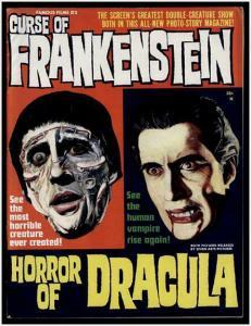 CURSE OF FRANKENSTEIN/HORROR OF DRAC1964 x 6 glossy VF