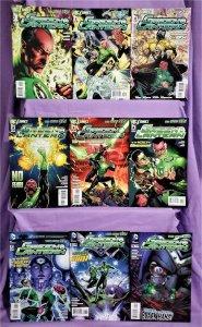 DC New 52 GREEN LANTERN #1 - 9 Geoff Johns Doug Mahnke (DC, 2011)!