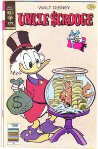 Uncle Scrooge, Walt Disney #159 (Dec-78) FN Mid-Grade Uncle Scrooge