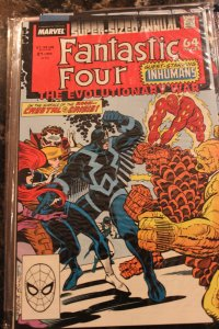 FANTASTIC FOUR ANNUAL #21 (Marvel,1988) Condition FN