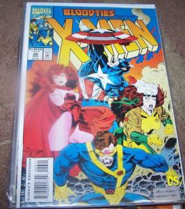 X men # 26  1993, Marvel) bloodties pt 2 magneto genosha ROGUE CYCLOPS