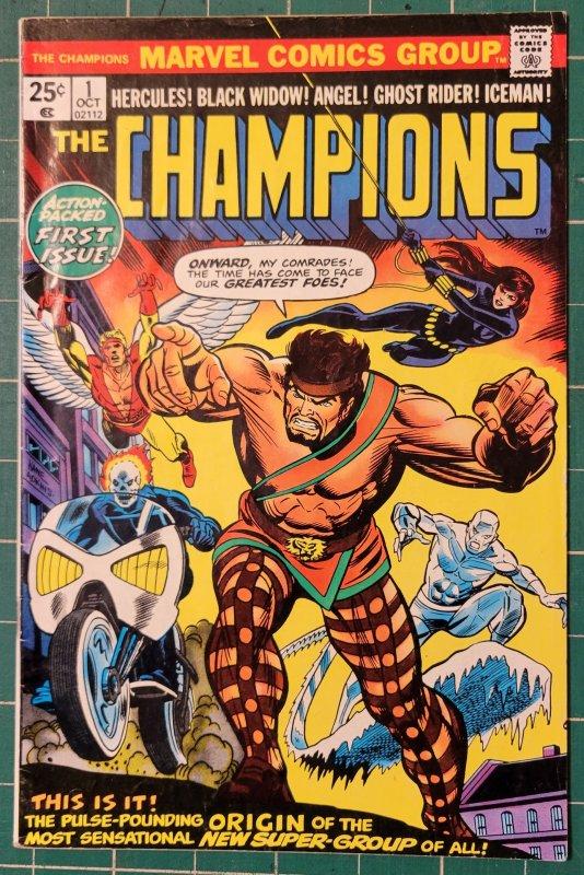Champions #1 & #12